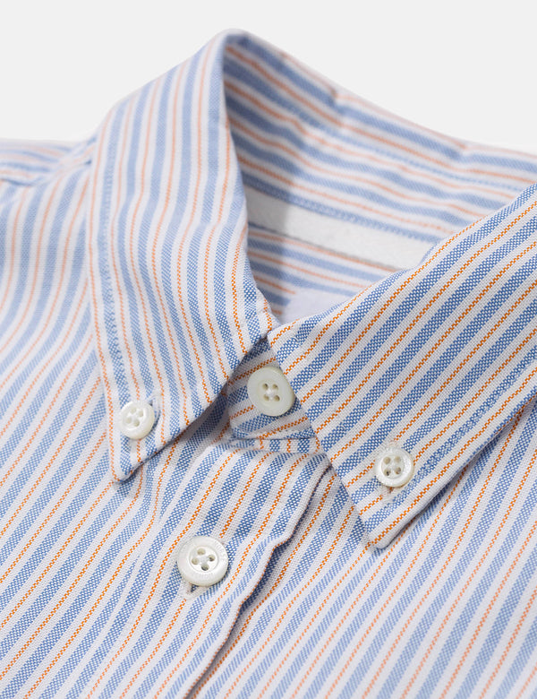 Norse Projects Anton Oxford Shirt - Clouded Blue