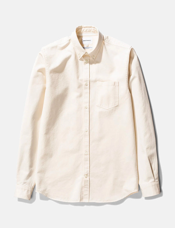 Norse Projects Anton Denim Shirt - Ecru