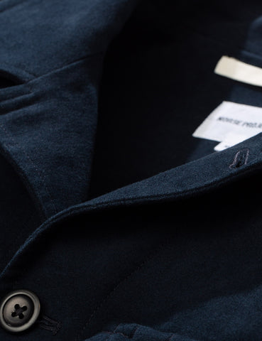 Norse Projects Kyle Moleskin Jacket - Dark Navy