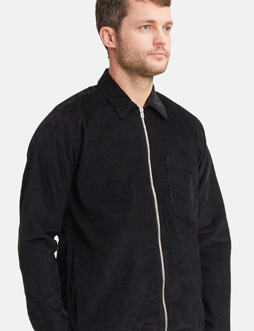 Norse Projects Jens Cord Overshirt - Black