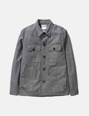 Norse Projects Kyle Jacket (Wool) - Charcoal Grey