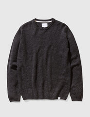 Norse Projects Sigfred Lambswool Jumper - Charcoal Grey