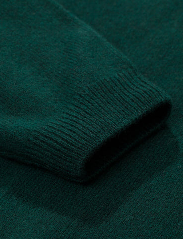 Norse Projects Sigfred Knit Sweatshirt (Lambswool) - Quartz Green