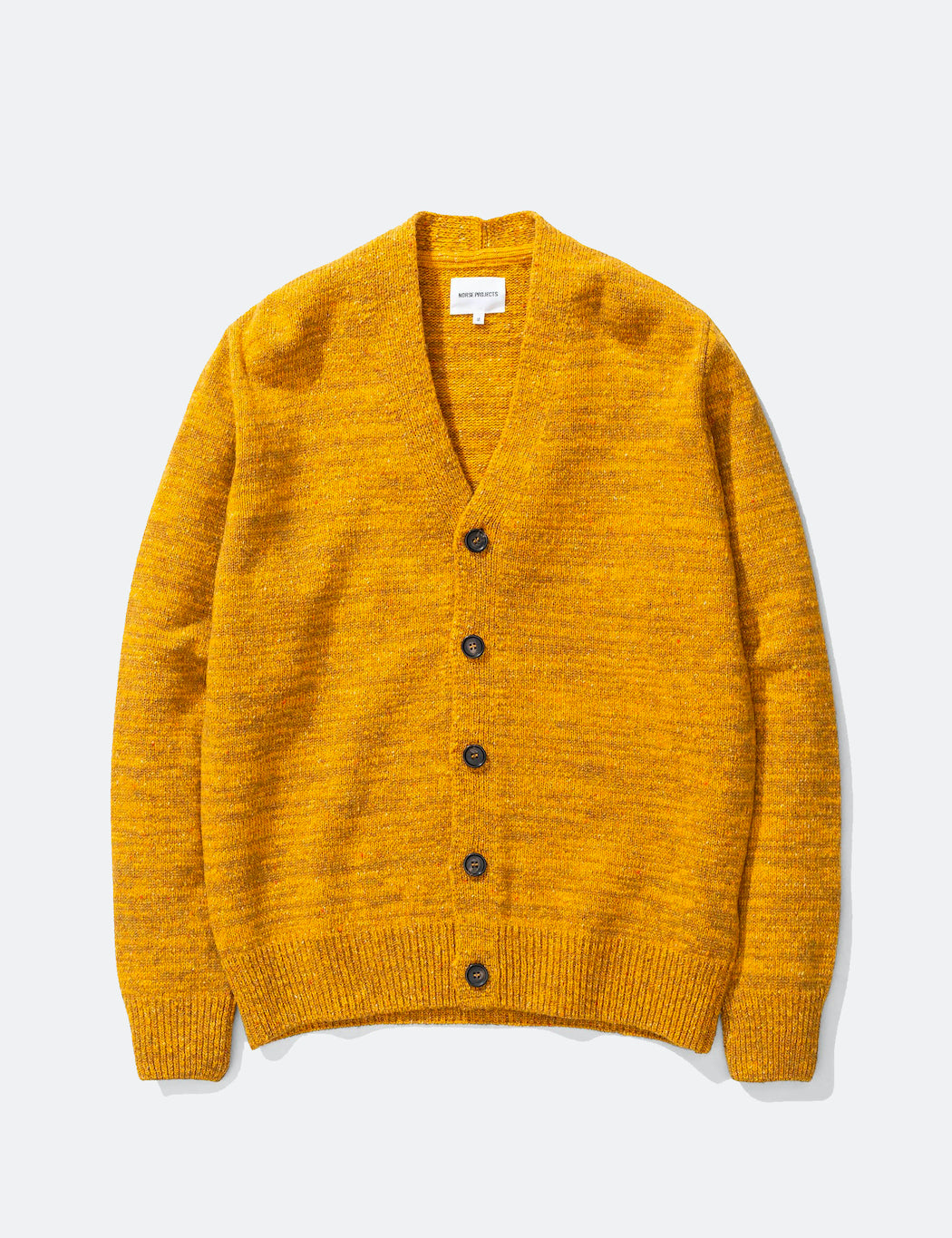 Norse Projects Adam Cardigan Neps - Montpellier Yellow | URBAN EXCESS.
