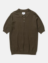 Norse Projects Johan Light Bubble Polo - Ivy Green