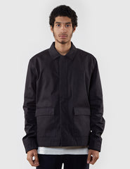 Norse Projects Tyge Gabardine Flight Jacket - Black