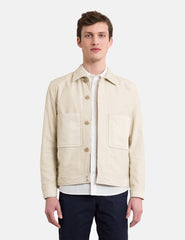 Norse Projects Tyge Broken Twill Jacket - Sand