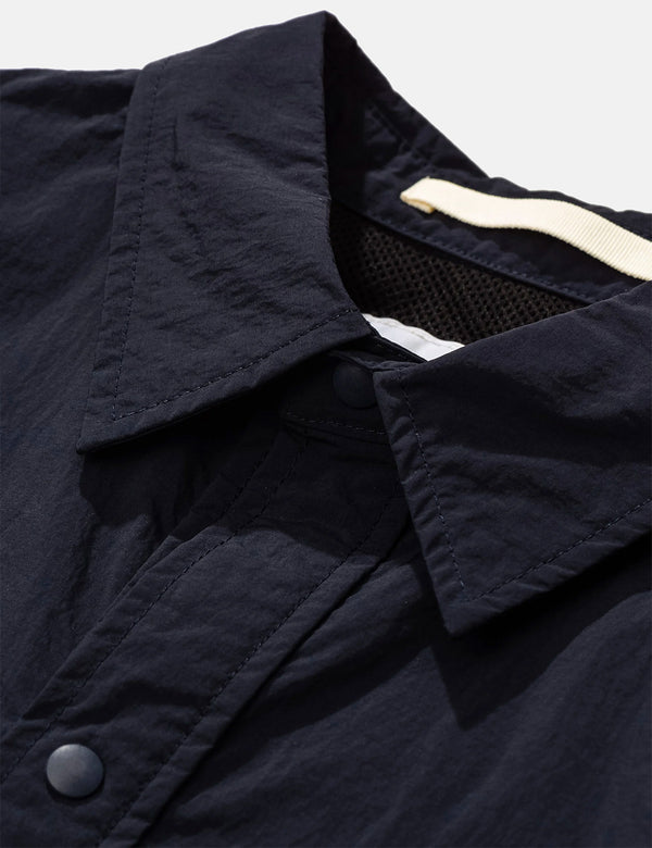 Norse Projects Thorsten Packable Jacket - Dark Navy Blue