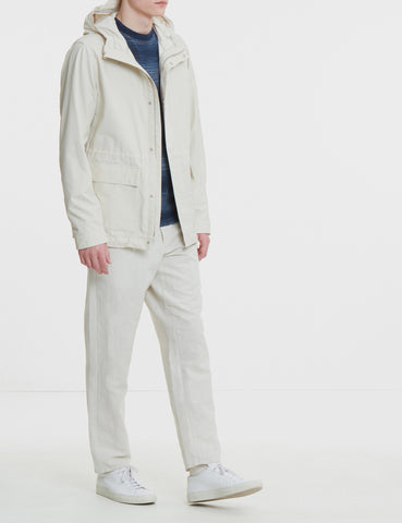 Norse Projects Nunk Summer Cotton Jacket - Ecru