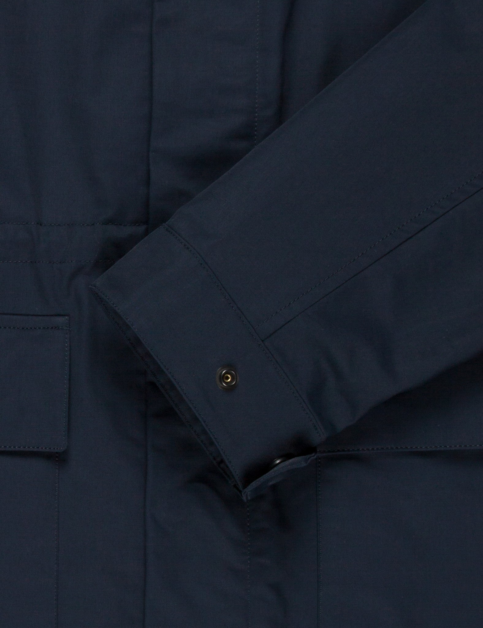Norse Projects Nunk Summer Cotton Jacket - Navy Blue