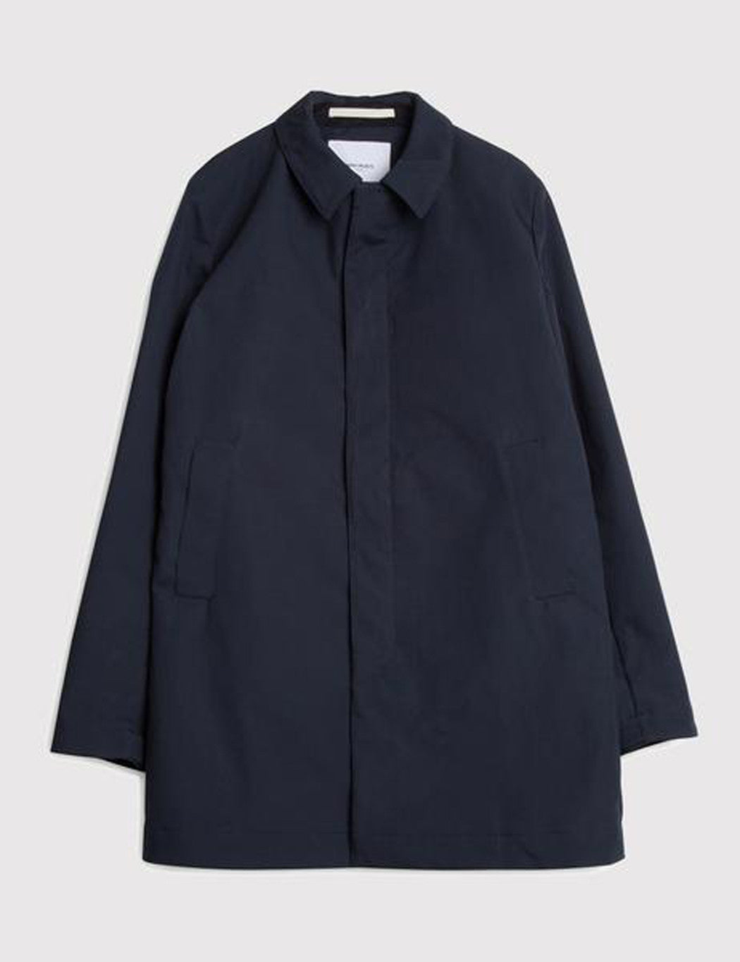 Norse Projects Thor Trench Coat (Cotton) - Dark Navy