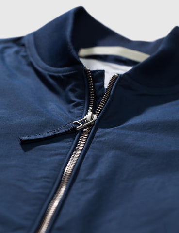 Norse Projects Ryan Bomber Jacket - Navy Blue