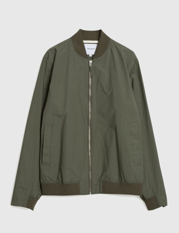 Norse Projects Ryan Bomber Jacket - Dried Olive