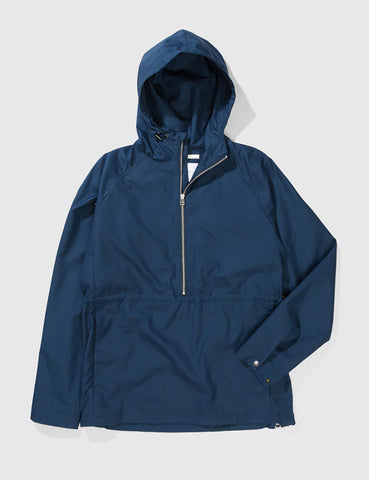 Norse Projects Frank Cotton Anorak - Navy Blue