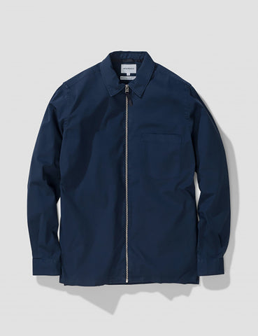 Norse Projects Jens Twill Jacket - Navy