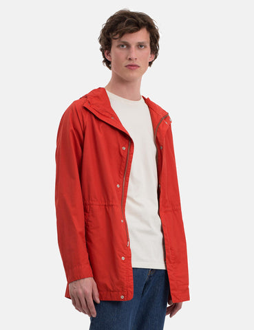 Norse Projects Lindisfarne GMD Jacket - Coral Red