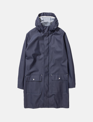 Norse Projects x Elka Elias Rain Jacket - Dark Navy