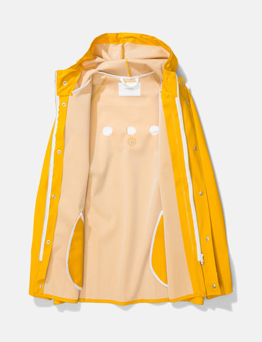 Norse Projects x Elka Anker Rain Jacket - Mustard Yellow