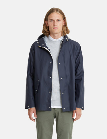 Norse Projects x Elka Anker Rain Jacket - Dark Navy