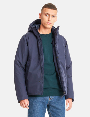 Norse Projects Fyn Down Gore Tex Jacket - Dark Navy