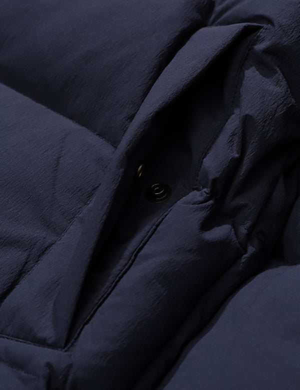 Veste Norse Projects Willum - Bleu Marine Foncé