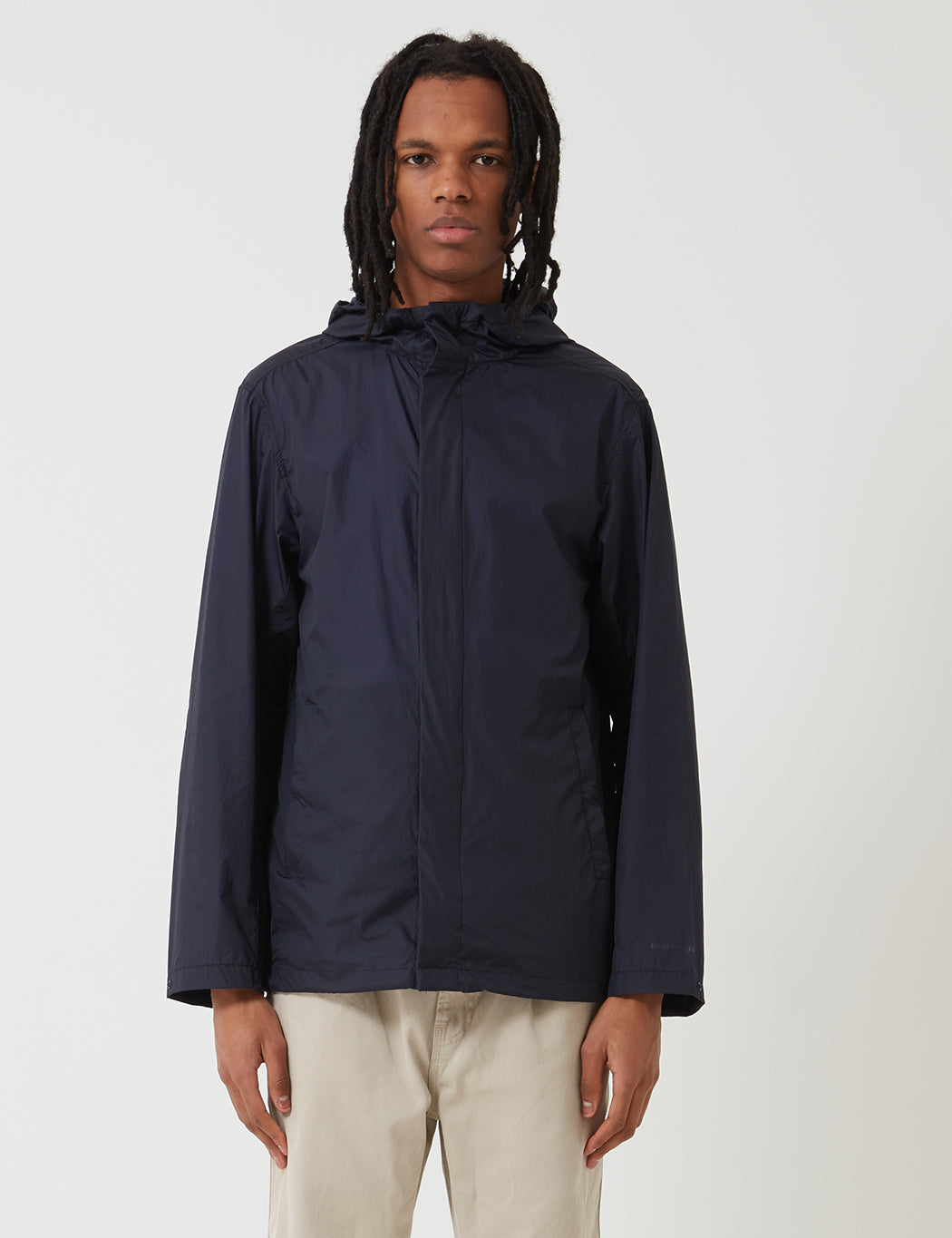 en ny chans unik design specialavsnitt Norse Projects Kalmar Light Rain Jacket - Navy Blue | URBAN EXCESS.