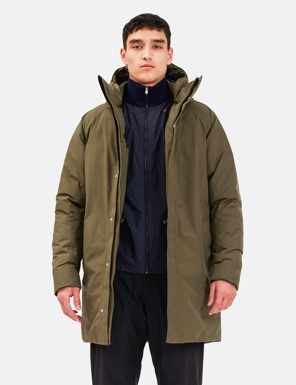 Parka Norse Projects Rokkvi 5.0 Gore Tex - Shale Stone
