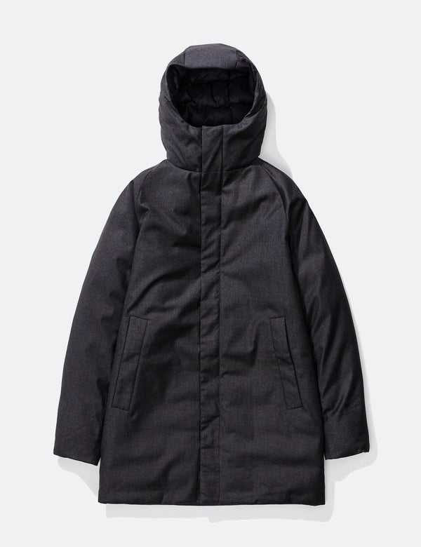 Norse Projects Rokkvi 5.0 Technical Wool Jacket - Charcoal Melange