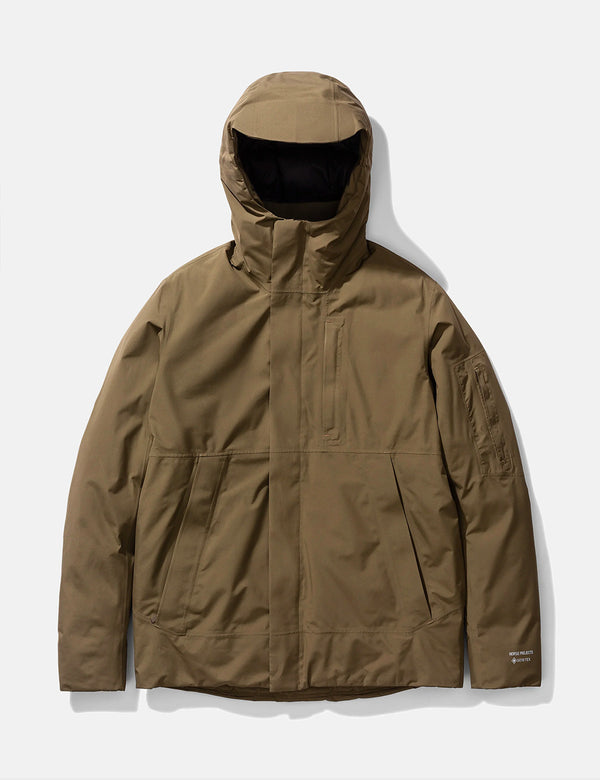 Norse Projects Fyn Down 2.0 Gore Tex Parka - Schieferstein