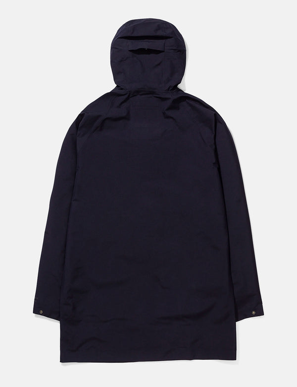 Norse Projects Bergen Shell Gore Tex 2.0 Jacket - Dark Navy Blue