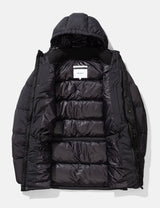 Norse Projects Willum Down Puffa Jacket - Black