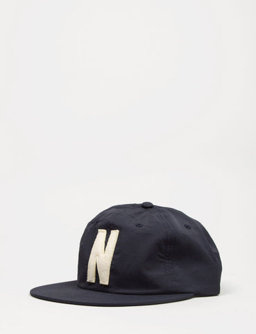 Norse Projects Summer Cotton 6-Panel Cap - Navy Blue