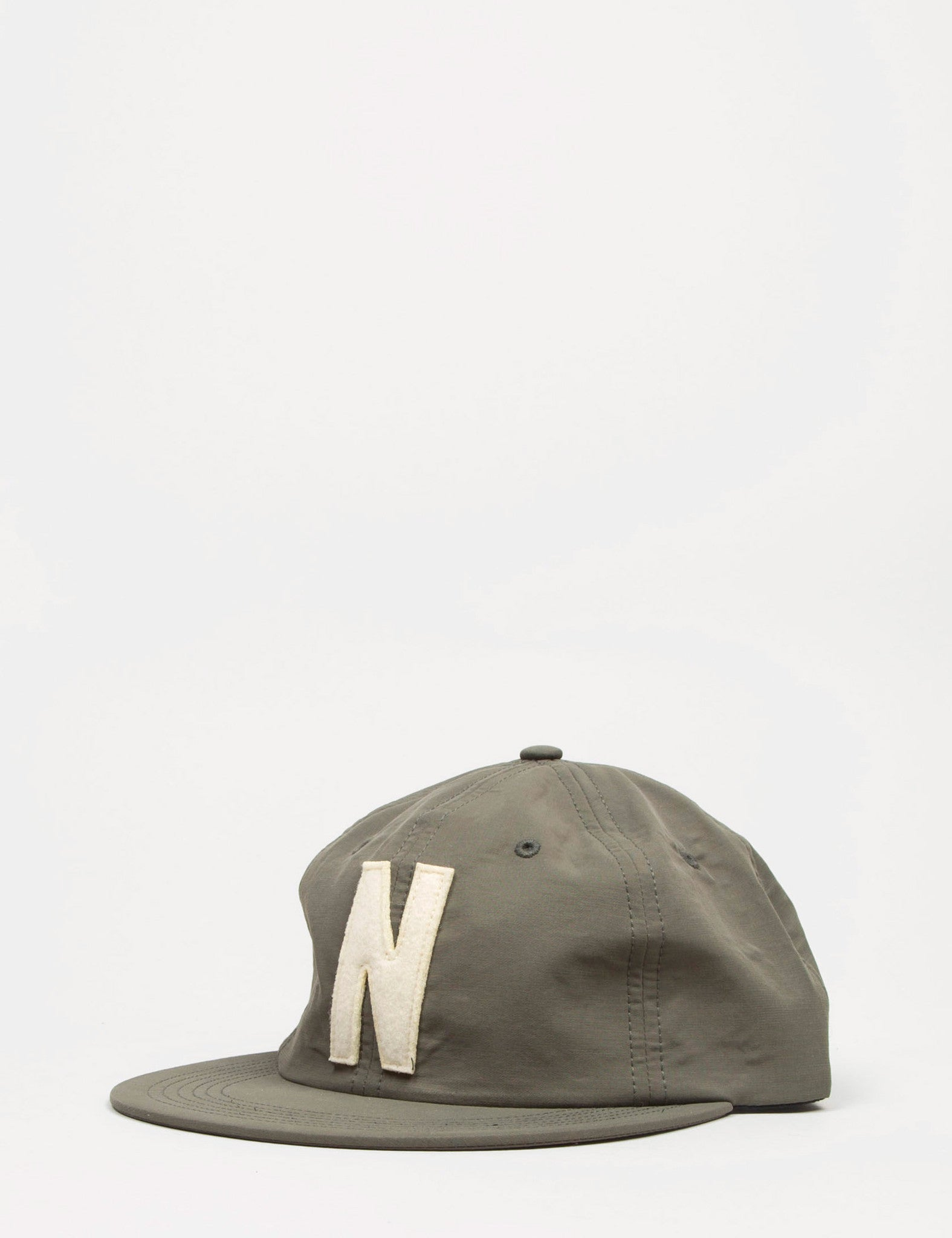 Norse Projects Summer Cotton 6-Panel Cap - Dried Olive