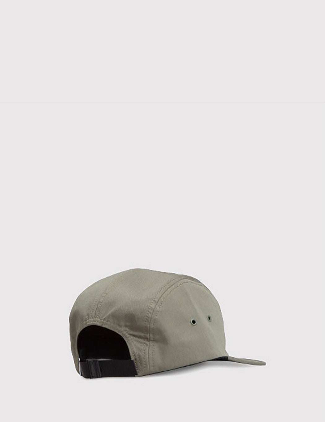 Norse Projects Cotton Gabardine 5-Panel Cap - Dried Olive