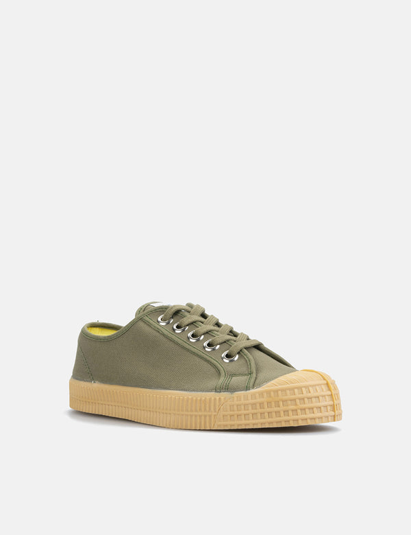 Novesta Star Master Trainers (Canvas) - Military/Gum
