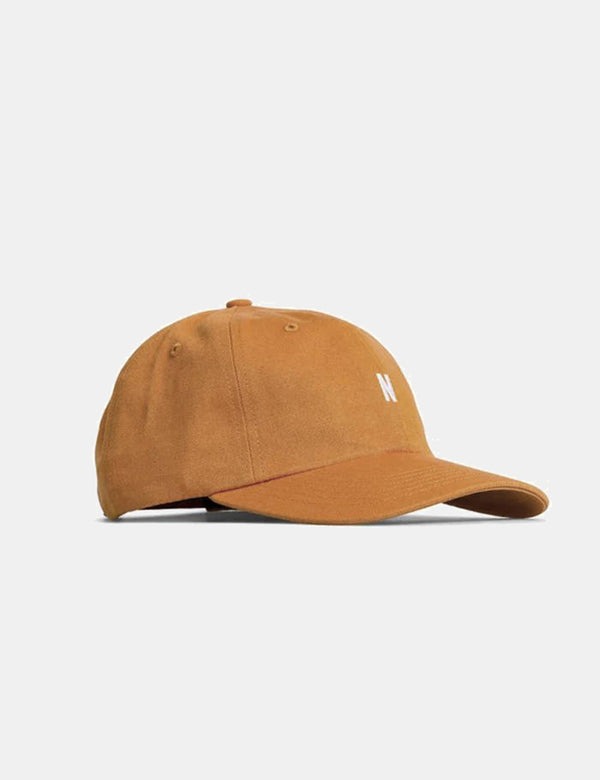 Casquette de Sport en Twill Norse Projects - Orange Doré