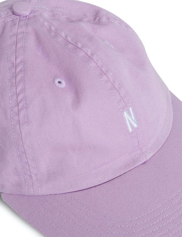 Norse Projects Twill Sports Cap - Heather