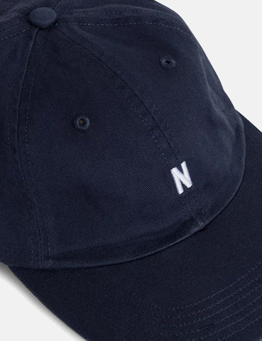 Norse Projects Twill Sports Cap - Dark Navy Blue