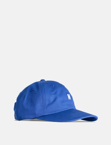 Norse Projects Twill Sports Cap - Twilight Blue
