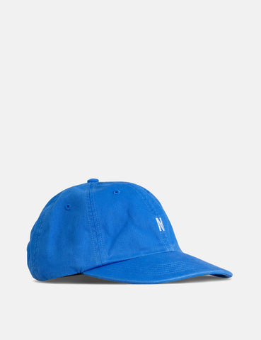Norse Projects Twill Sports Cap - Mediterranean Blue