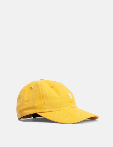Norse Projects Twill Sports Cap - Sunwashed Yellow