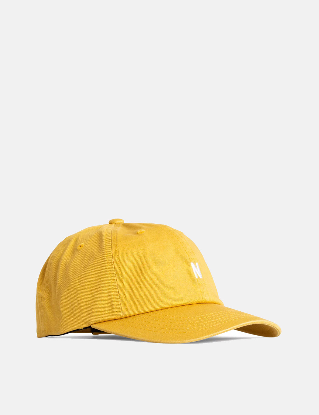 Norse Projects Twill Sports Cap - Montpellier Yellow | URBAN EXCESS.