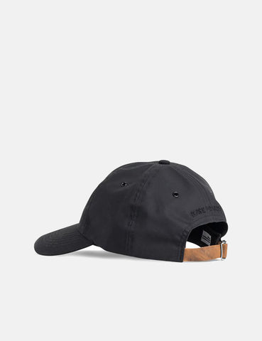 23788e79c06 ... Norse Projects Wax Cotton Sports Cap - Boot Black