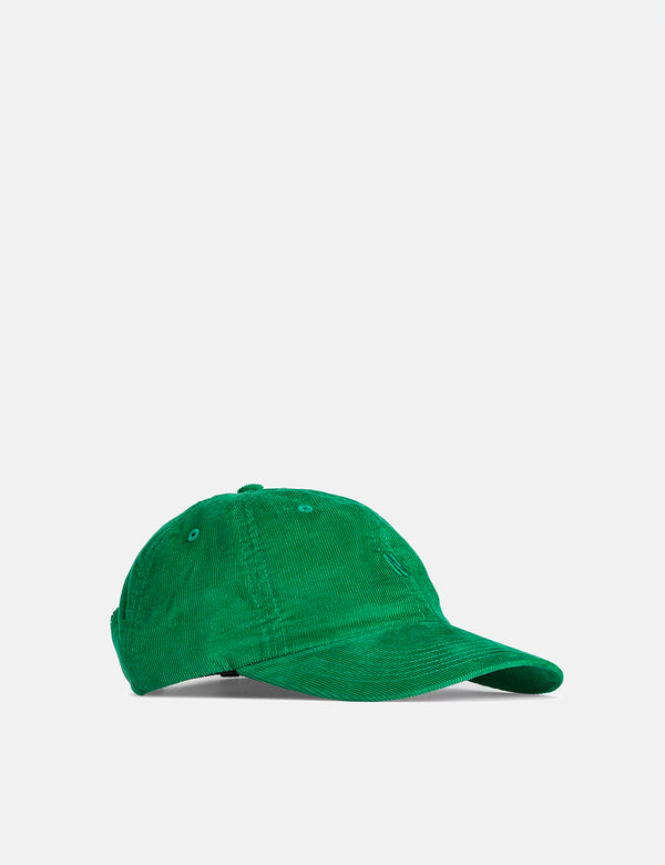 Norse Projects Baby Corduroy Sports Cap - Sporting Green