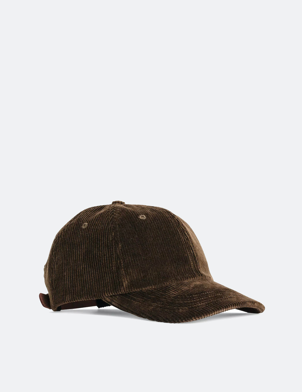 Norse Projects Wide Wale Cord Sports Cap - Beech Green