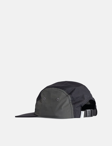 Norse Projects Nylon 4 Panel Cap - Black