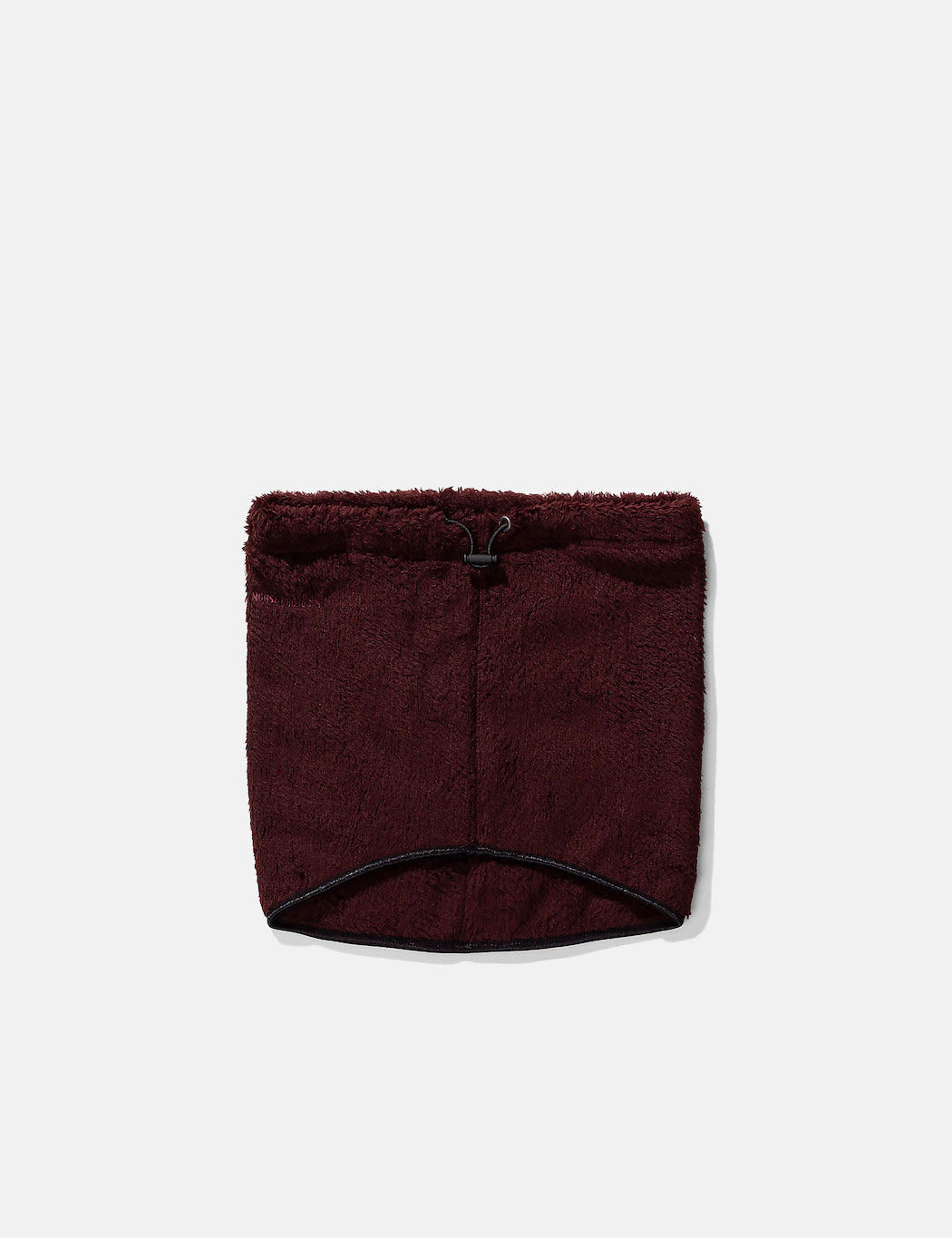 Norse Projects Fleece Neck Warmer - Mulberry Red | URBAN EXCESS.