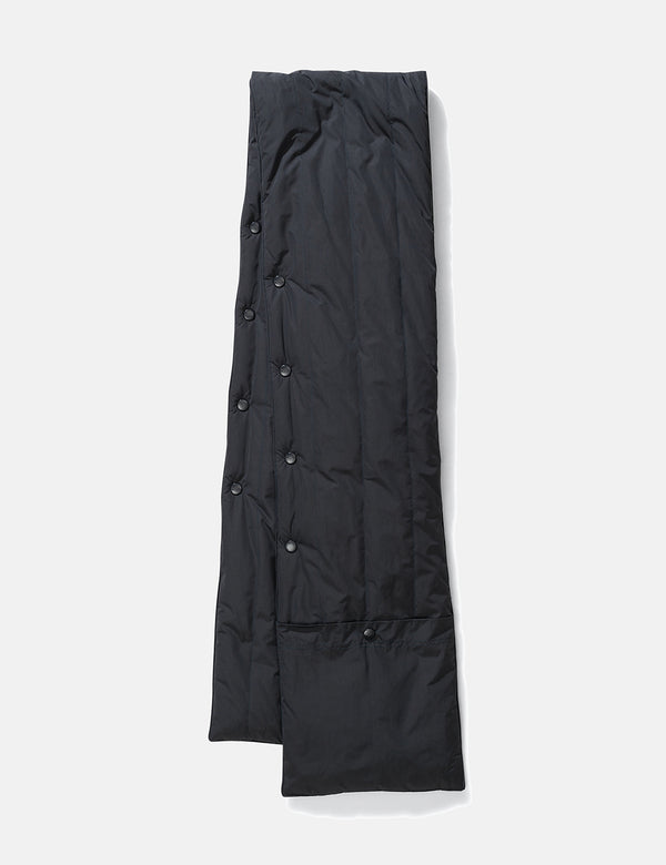 Norse Projects Snap Quilt Scarf - Slate Grey