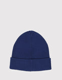 Norse Projects Cotton Watch Beanie Hat - Navy Blue