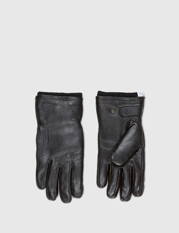 Norse Projects x Hestra Utsjö Sport Gloves (Leather) - Black